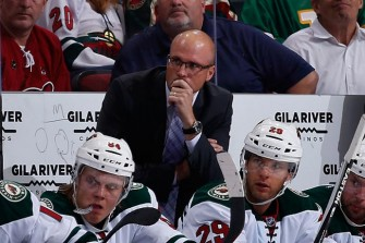 Minnesota Wild Fire Coach Mike Yeo