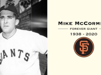 Former MLB Cy Young Winner Mike McCormick Dies At 81