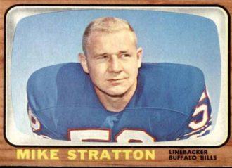 Former Buffalo Bills Linebacker Mike Stratton Dies At 78