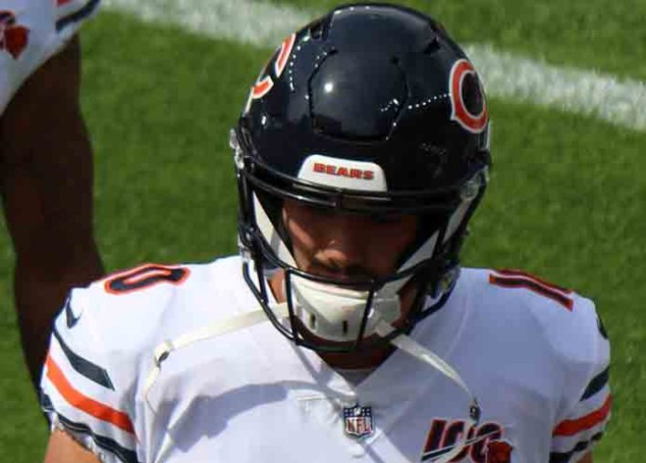 Bears Cruise to 16-6 Win Over Vikings Despite Losing Mitchell Trubisky [VIDEO HIGHLIGHTS]