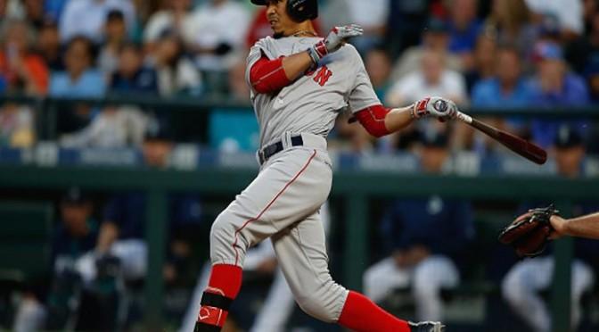 Mookie Betts, Craig Kimbrel Lead Red Sox to 2-1 Win vs Mariners