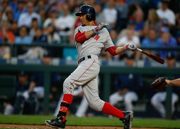 Mookie Betts, Red Sox Rout Yankees 14-1 For Ninth Straight Win [VIDEO]