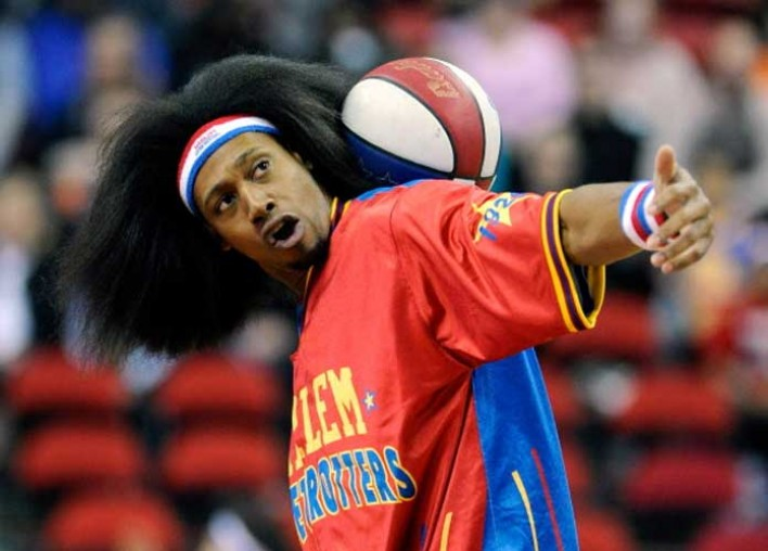 Harlem Globetrotter Moose Weekes On His Diet, Health And Wellness [VIDEO EXCLUSIVE]