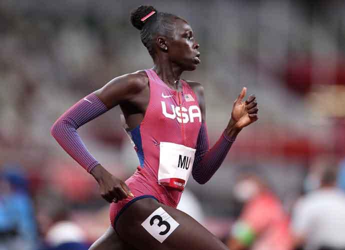 Athing Mu Shocks Winning Gold For USA In 800-Meter