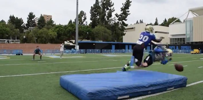 Danny Siegel, UCLA Student Running For School Office, Allows Myles Jack To Tackle Him