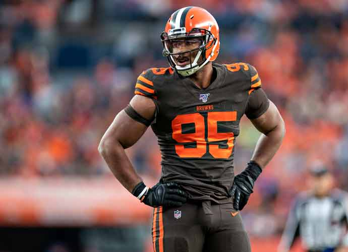 Browns' Myles Garrett & Steelers' Mason Rudolph Make Up After Fight