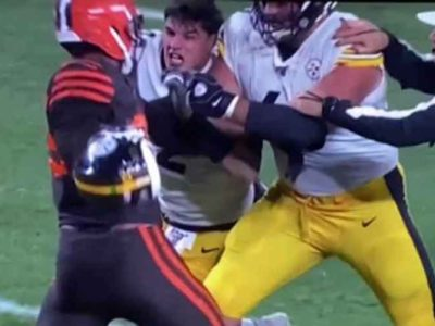 Myles Garrett Hits Mason Rudolph With His Helmet, Gets Indefinite Suspension