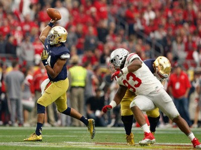 AP Poll Keeps Form After Mild CFB Weekend: Ohio State Moves Up To No. 3, Notre Dame Rises To No. 6