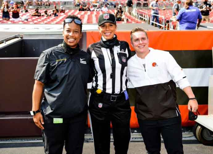NFL Marks First Game Ever With Female Referee & Female Coaches On Both Sidelines