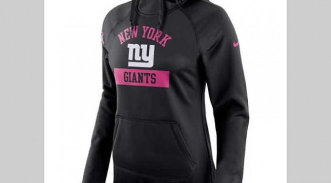 Get The Gear NFL Season Edition: Women's Nike Breast Cancer Awareness Black Hoodie
