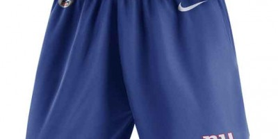 Get The Gear: Men's New York Giants Nike Royal Knit Performance Shorts