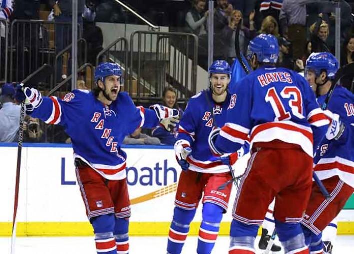 Rangers Beat Senators 3-0 For Sixth Straight Home Win