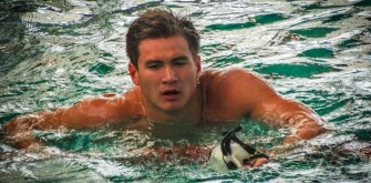 Nathan Adrian, Olympic Swimmer, Explains His Crazy Workout Schedule   EXCLUSIVE