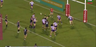 Nathan Friend's Back-Flip Rugby Pass Goes Viral
