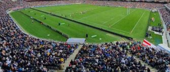 43,000 Fans Return To The Stands At New Zealand Rugby Game