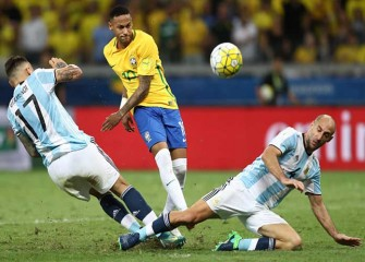 Neymar, Philippe Coutinho Lead Brazil To 3-0 Rout Of Argentina In World Cup Qualifier