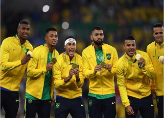 Brazil Men's Soccer, Led By Neymar, Beat Germany In Penalties For First-Ever Olympic Title
