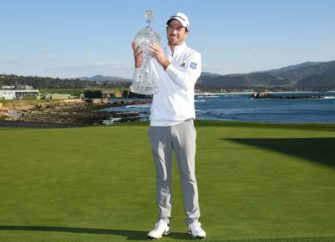 Nick Taylor Wins Pebble Beach Tournament Amid Battle With Phil Mickelson, Windy Weather