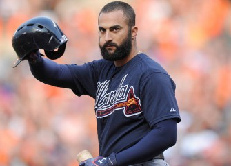 Nick Markakis, Atlanta Braves Right Fielder, Receives Standing Ovation From Baltimore Orioles Fans