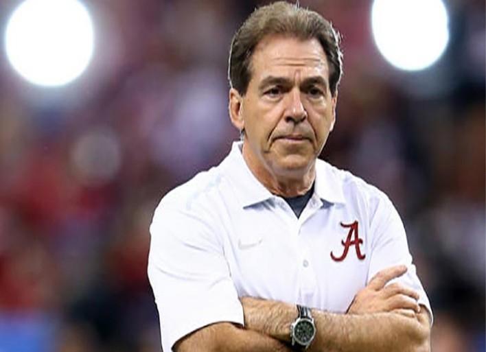 Alabama's Nick Saban On New NCAA Headset Rule: 'It's Like Mouse Manure'