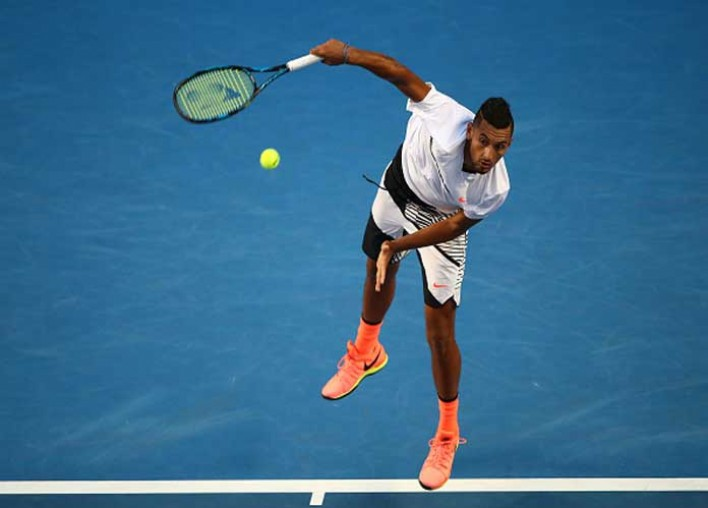 Nick Kyrgios, Rafael Nadal Reach Australian Open Quarterfinals [VIDEO]