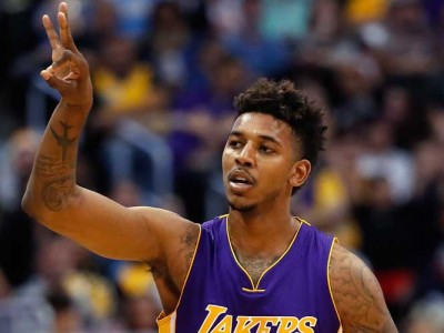 Lakers Guard Nick Young Unveils His New Adidas Sneakers
