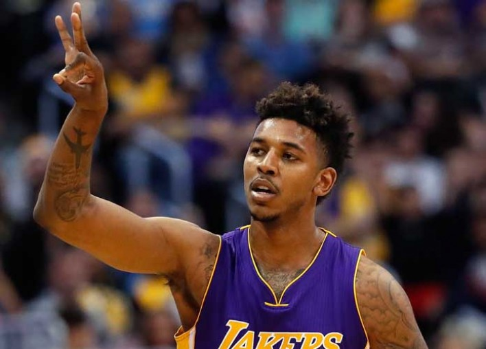 Nick Young Narrowly Escapes Injury As Firework Ignites In His Hand