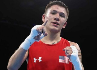 Nico Hernandez Upsets To Guarantee First Medal In Men's Boxing For U.S. Since 2008