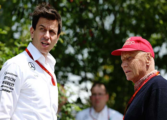 Toto Wolff, Niki Lauda Sign New Mercedes F1 Deals Until 2020