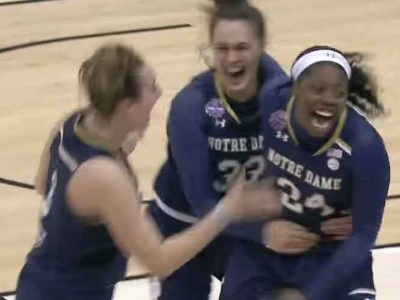 Notre Dame Beats Mississippi State 61-58 In NCAA Women's Title Game With Buzzer-Beater [VIDEO]