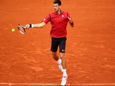 Novak Djokovic Wins Fourth-Round Match At French Open Before Rain Stops Play