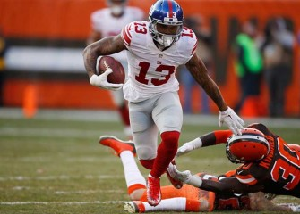 Odell Beckham Jr., Giants Keep Browns Winless With 27-13 Victory