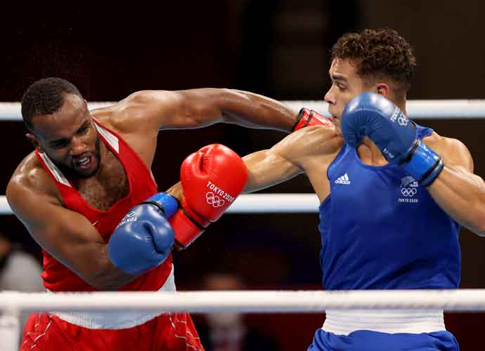 Moroccan Boxer Youness Baalla Attempts To Bite Opponent's Ear In Olympic Fight