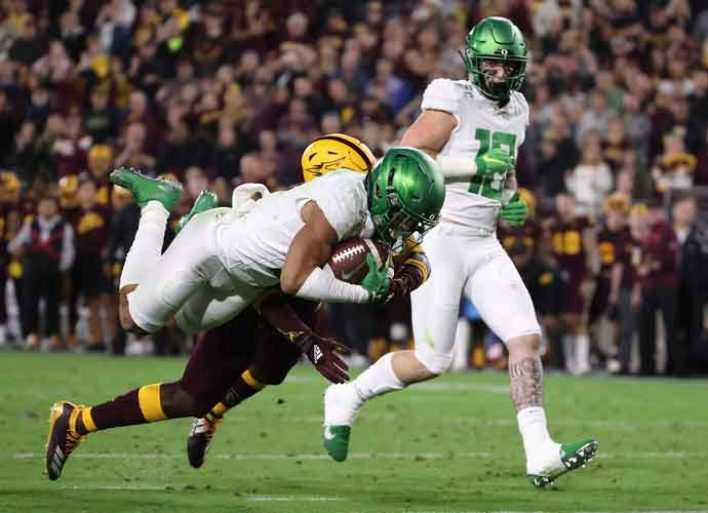 Arizona State Beats Oregon 31-28 As Ducks Playoff Hopes Crumble