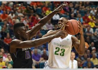 No. 8 Oregon Beats Washington 83-77 In Pac-12 Quarterfinals