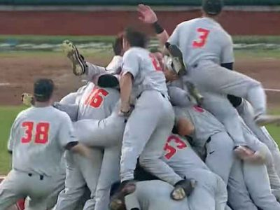 Oregon State Wins Third College World Series Title With 5-0 Win Over Arkansas [VIDEO]