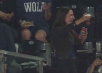 Fan Catches Foul Ball In Beer Cup At Padres' Stadium, Then Chugs Drink [VIDEO]