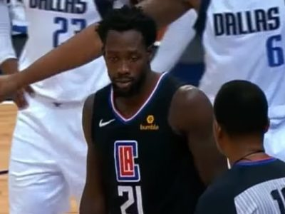 Clippers' Patrick Beverley, Ejected Fined $25,000 For Throwing Ball At Mavericks Fan