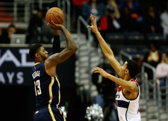 Paul George Scores 40 In Pacers Victory Over The Wizards