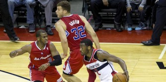 Blake Griffin Cannot Stop Laughing at Chris Paul in Post Game Interview