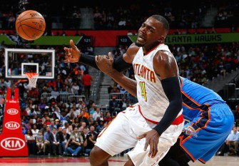 Paul Millsap And Jeff Teague Lead Atlanta Hawks To 106-100 Victory Over OKC Thunder