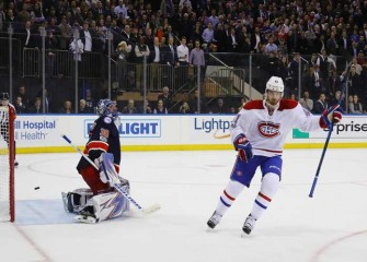 Canadiens Beat Rangers 3-2 In Shootout