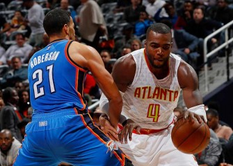 Paul Millsap Scores Season-High 30 Points In Hawks' 110-108 Win Over Thunder