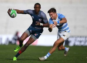 VIDEO: US Olympic Rugby Player Perry Baker On His Leg Injury