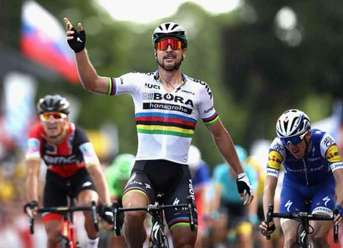 Peter Sagan Wins Third Stage Of Tour De France