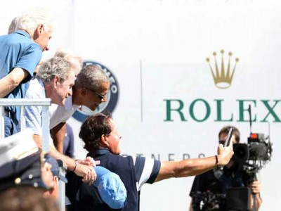 Phil Mickelson Takes Epic Selfie With 3 Former Presidents At Presidents Cup [PHOTO]