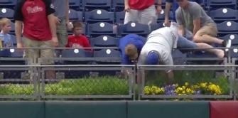 Philadelphia Phillies Fan Has Home Run Ball Taken