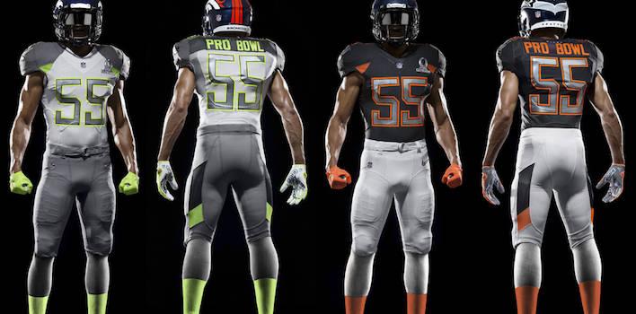 Nike Unveils 2015 Pro Bowl Uniforms