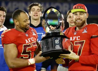Lorenzo Alexander, Travis Kelce Share Pro Bowl MVP Honors After Leading AFC To 20-13 Win Vs NFC