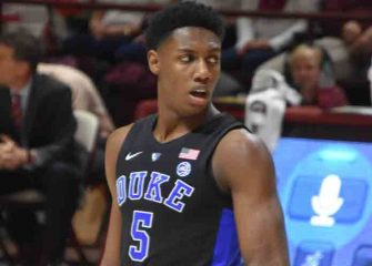 "Duke Product RJ Barrett Says ""New York Is The Only Place I Want To Be"" After Workout With Knicks"